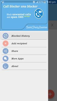 Call Blocker Sms Blocker poster