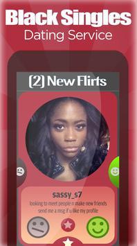 Black Singles ★ Dating Service screenshot 3