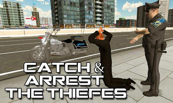 Police Motorbike Rider Sim screenshot 1