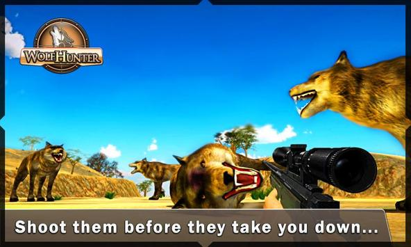 Wolf Hunter – Forest Hunting apk screenshot