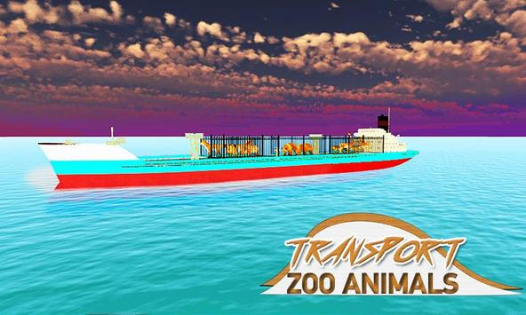 Zoo Animal Transporter Ship screenshot 2