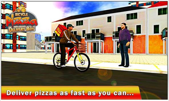 Bicycle Pizza Delivery Boy Sim apk screenshot