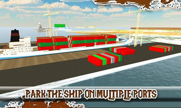 Cargo Container Ship Simulator poster