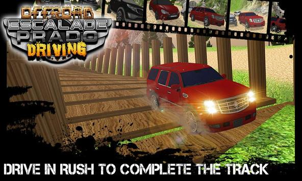 Offroad Escalade Prado Driving apk screenshot