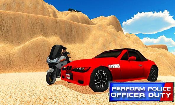 Hill Police Bike Driving apk screenshot