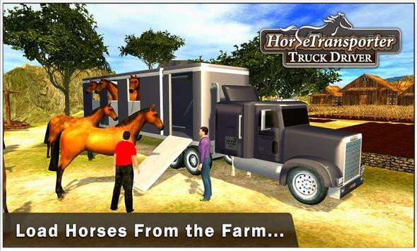 Horse Transporter Truck Driver apk screenshot