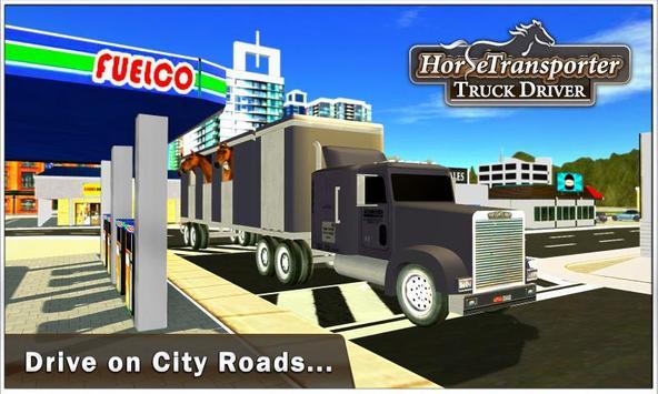 Horse Transporter Truck Driver poster