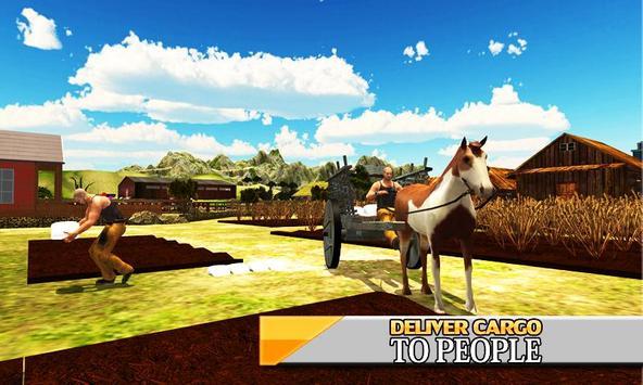 Horse Cart Hill - Buggy Driver screenshot 1