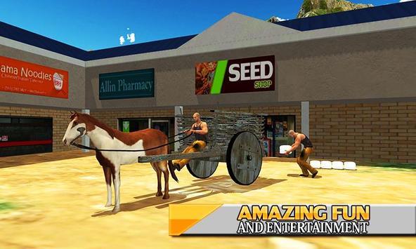Horse Cart Hill - Buggy Driver screenshot 2