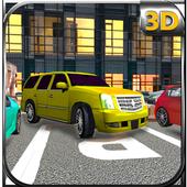 4x4 Jeep Parking - Smart Drive icon