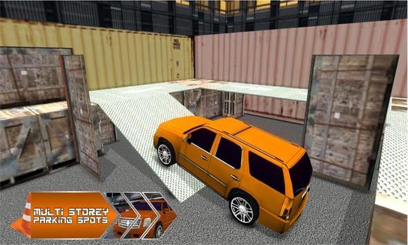 4x4 Jeep Parking - Smart Drive poster