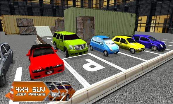 4x4 Jeep Parking - Smart Drive screenshot 2