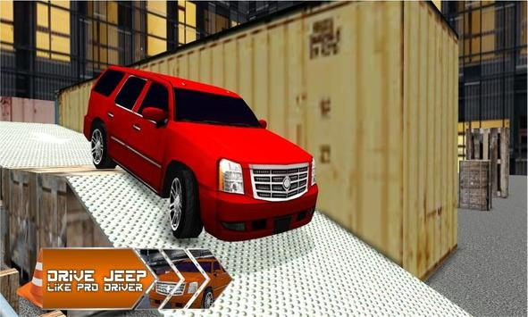 4x4 Jeep Parking - Smart Drive screenshot 4
