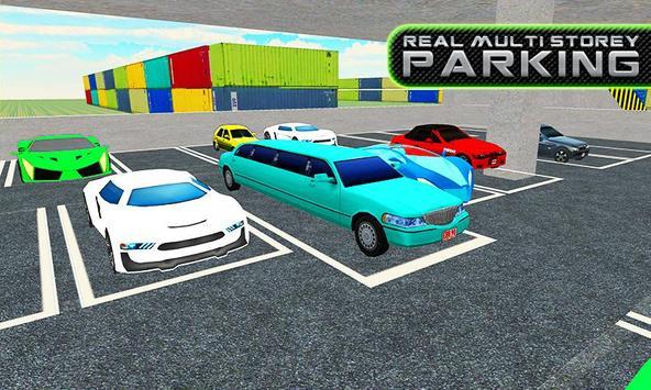 Limo Car Multi Storey Parking apk screenshot