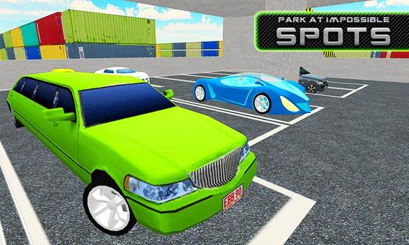 Limo Car Multi Storey Parking poster