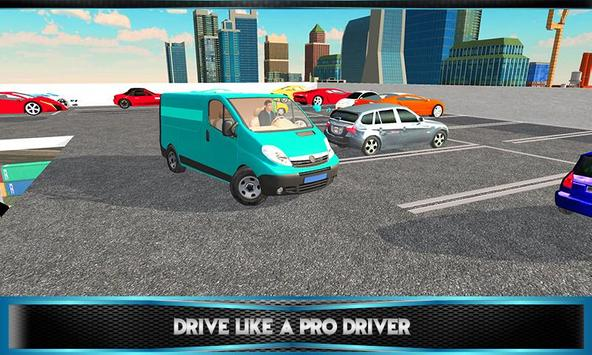 Multi Storey Mini Van Parking apk screenshot
