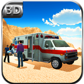 Offroad Ambulance Rescue Drive icon
