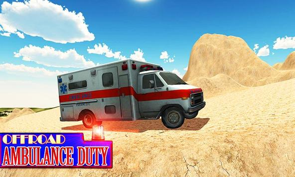 Offroad Ambulance Rescue Drive apk screenshot