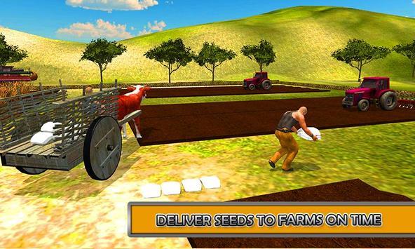 Offroad Bull Cart Uphill Rider apk screenshot