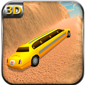 Offroad Limo Taxi Driving Sim icon