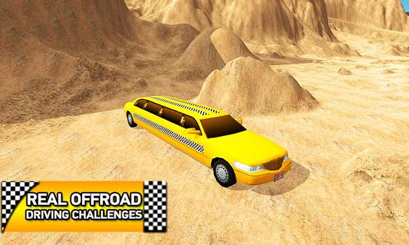 Offroad Limo Taxi Driving Sim poster