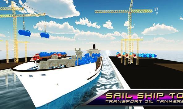 Oil Tanker Transporter Ship apk screenshot