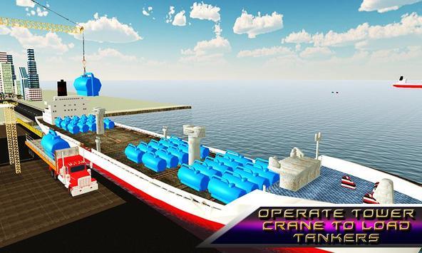 Oil Tanker Transporter Ship poster
