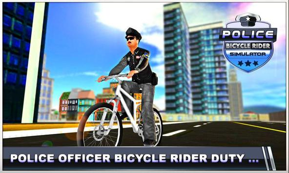 Police Bicycle Rider screenshot 3