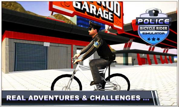 Police Bicycle Rider screenshot 1