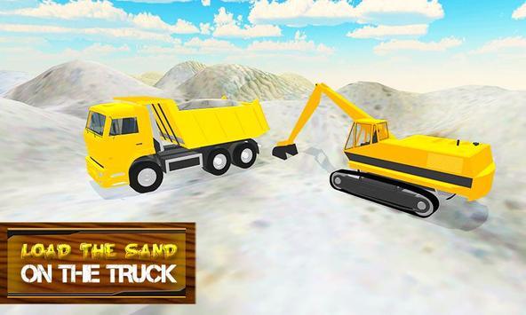 Sand Transporter Truck Driving apk screenshot