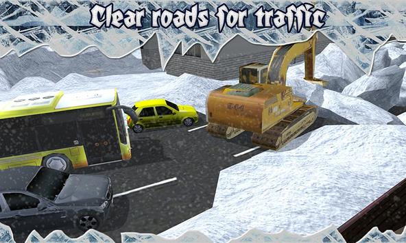 Snow Blower Truck Simulator screenshot 4