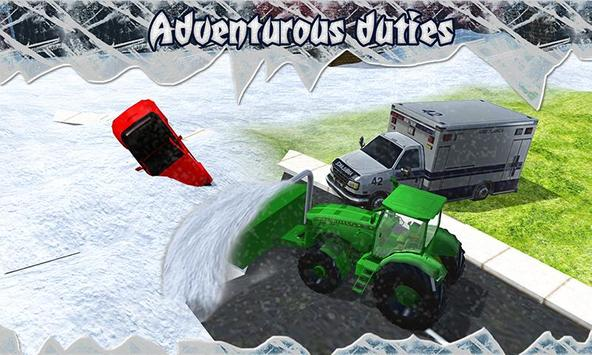 Snow Blower Truck Simulator screenshot 1