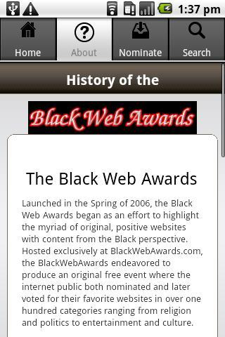 Black Web Awards for Android - APK Download