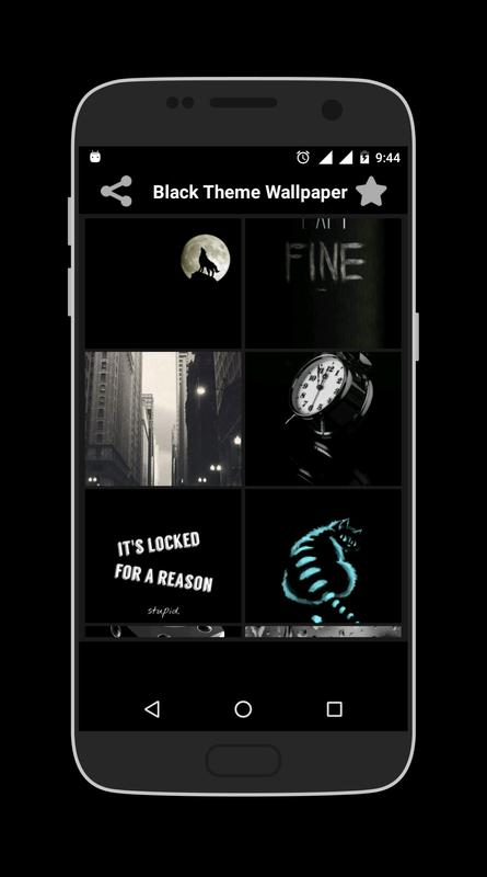 Black Theme Wallpaper For Android Apk Download