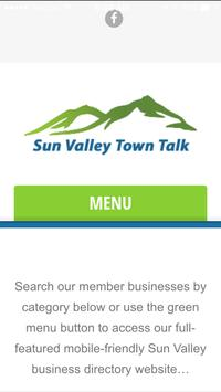 Sun Valley Town Talk poster