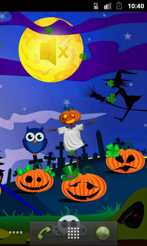 Halloween Live Wallpapers Free Apk Screenshot