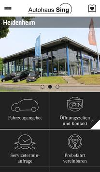 Autohaus Sing poster