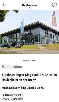 Autohaus Sing apk screenshot