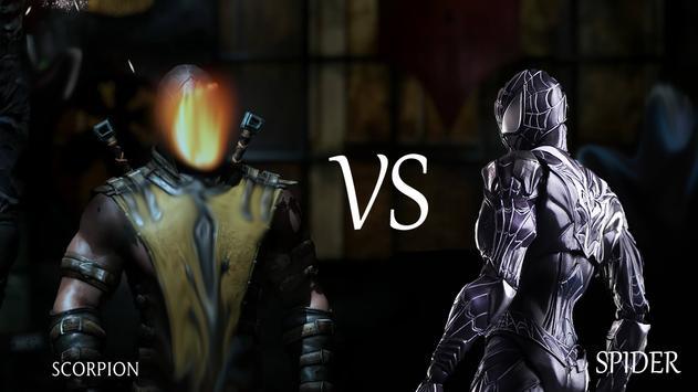 Scorpion vs Spider poster