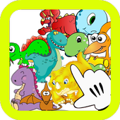 Dinosaur Matching Memory Game 图标