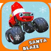 Blaze Monster Truck For Kids icon