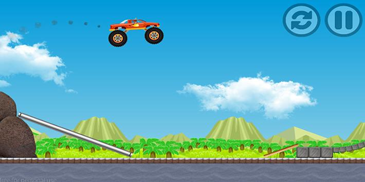 Blaze Monster Truck For Kids apk screenshot