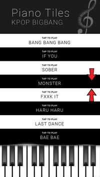 KPOP BIGBANG - Piano Tap Free screenshot 3