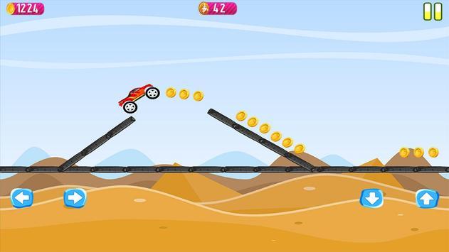 Blaze Race Monsters Car apk screenshot