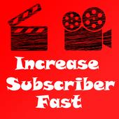 Increase Subscriber icon