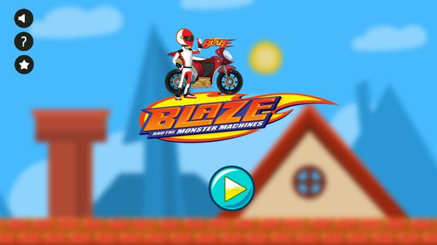 Blazing Monster Moto apk screenshot
