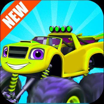 Blaze In Monster Truck Climb apk screenshot