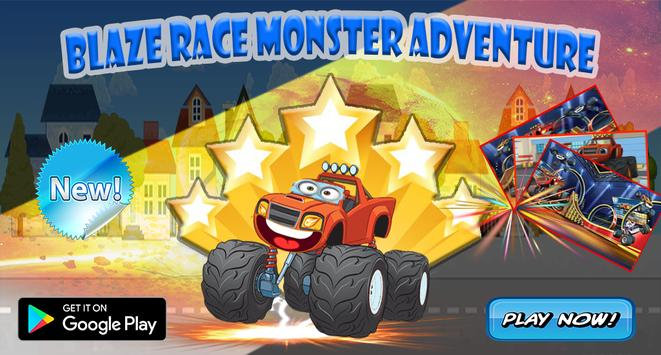 Blaze Race Monster Adventure poster