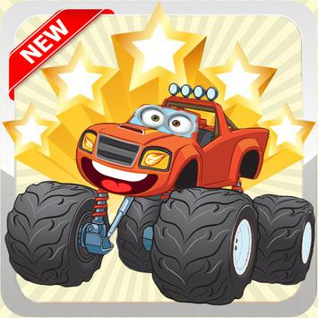 Blaze Race Monster Adventure apk screenshot