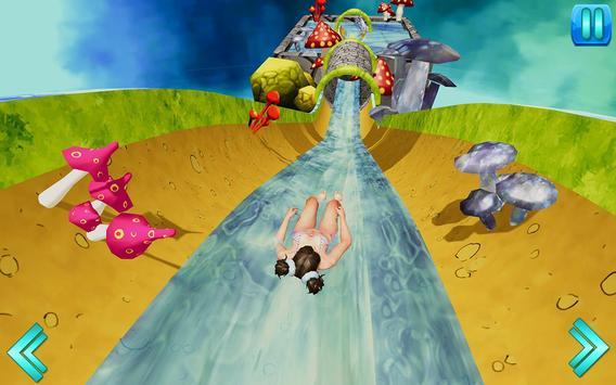 Water Slide Uphill Rush Racing poster